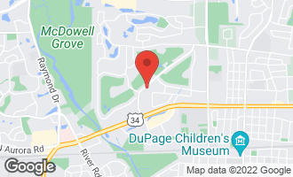 Map of 1036 Royal St. George Drive NAPERVILLE, IL 60563