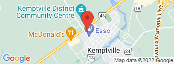 Google Map of 104+Elvira+Street%2CKemptville%2COntario+K0G+1J0