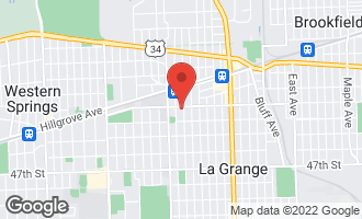 Map of 104 South Waiola Avenue LA GRANGE, IL 60525
