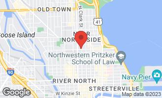 Map of 104 West Oak Street 2W CHICAGO, IL 60610