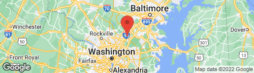 Map of 1041 MARTON STREET LAUREL, MD 20707
