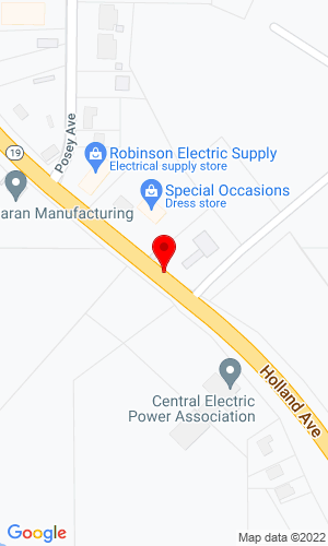 Google Map of Deanco Auctioneers 1042 Holland Avenue, Philadelphia, MS, 39350