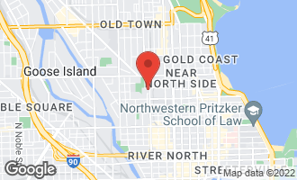 Map of 1042 North Orleans Avenue G CHICAGO, IL 60610