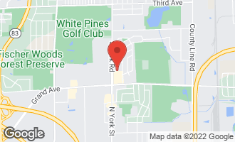 Map of 1043 South York Road LL5 BENSENVILLE, IL 60106