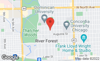 Map of 1046 Franklin Avenue RIVER FOREST, IL 60305