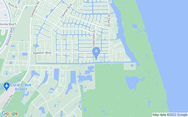 10485 Washington Rd Port Charlotte Florida 33981 locatior map
