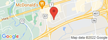 Google Map of 105+Haist+Avenue+Unit+1%2CWoodbridge%2COntario+L4L+5V6