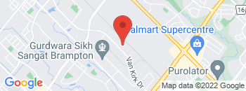 Google Map of 105+Van+Kirk+Drive%2CBrampton%2COntario+L7A+1A4