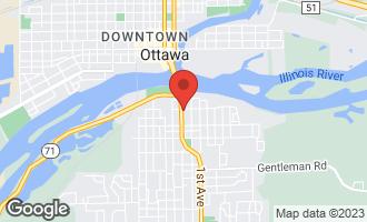 Map of 105 East Van Buren Street East OTTAWA, IL 61350