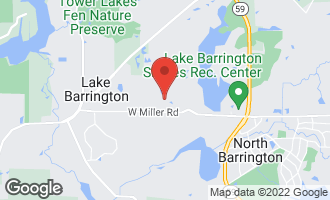 Map of 105 North Waterview Court #1072 LAKE BARRINGTON, IL 60010