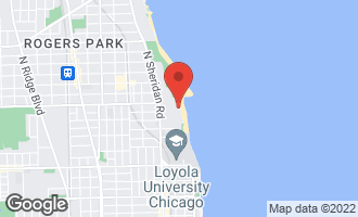 Map of 1050 West Columbia Avenue 1D CHICAGO, IL 60626