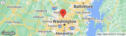 Map of 10507 MILLS CROSSING WAY KENSINGTON, MD 20895