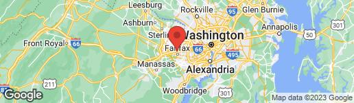Map of 10509 OAK PLACE FAIRFAX, VA 22030