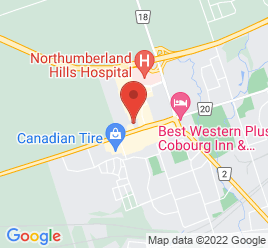 Google Map of 1056+Elgin+Street%2CCobourg%2COntario+K9A+5V5