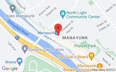 Map of Manayunk Studio
