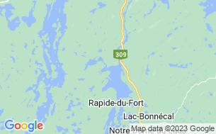 Map of Camping Domaine De La Presqu'île