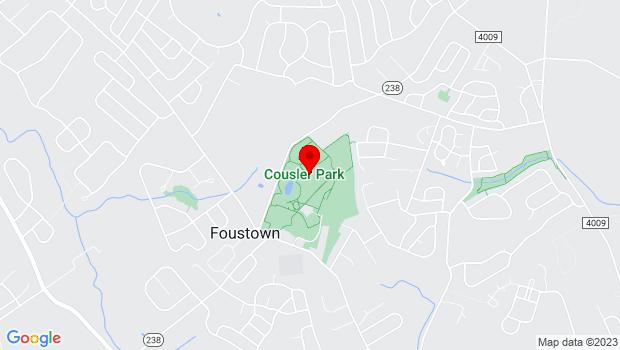Google Map of 1060 Church Rd, York, PA 17404