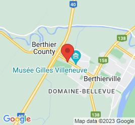 Google Map of 1061%2C+Boul.+Gilles-Villeneuve%2CBerthierville%2CQuebec+J0K+1A0
