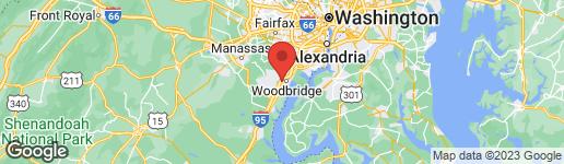 Map of 1061 GARDENVIEW LOOP #103 WOODBRIDGE, VA 22191