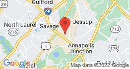 Google Map of 10621 Riggs Hill Road, Jessup MD