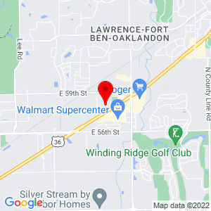 Google Map of 10625 Deme Dr Indianapolis, IN 46236