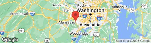 Map of 10634 JOHN AYRES DRIVE FAIRFAX, VA 22032