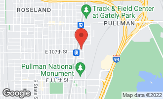 Map of 10647 South Champlain Avenue #1 CHICAGO, IL 60628