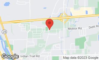 Map of 1065 Molitor Road AURORA, IL 60505