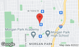 Map of 10650 South Longwood Drive CHICAGO, IL 60643