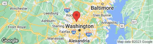 Map of 10650 WEYMOUTH STREET W-102 BETHESDA, MD 20814