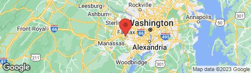 Map of 10661 YORKTOWN DRIVE FAIRFAX, VA 22030