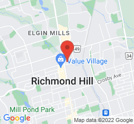 Google Map of 10675+Yonge+Street%2CRichmond+Hill%2COntario+L4C+3E1