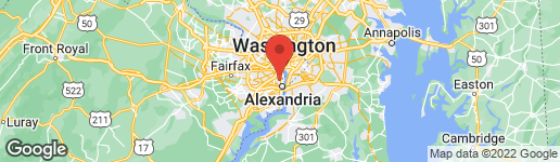 Map of 107 DEL RAY AVENUE E ALEXANDRIA, VA 22301