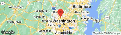 Map of 10703 HAMPTON MILL TERRACE #210 ROCKVILLE, MD 20852