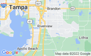 Map of Rice Creek RV Resort