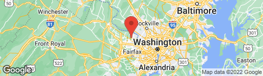 Map of 10720 FALLS POINTE DRIVE GREAT FALLS, VA 22066
