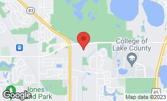 Map of 1074 Chadwick Drive GRAYSLAKE, IL 60030