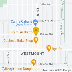 Map to Cafe Tiramisu  provided by Google