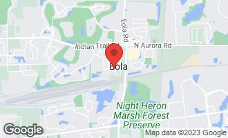 Map of 1076 East 4th Street AURORA, IL 60502