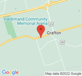 Google Map of 10761+Country+Road+2%2CGrafton%2COntario+K0K+2G0