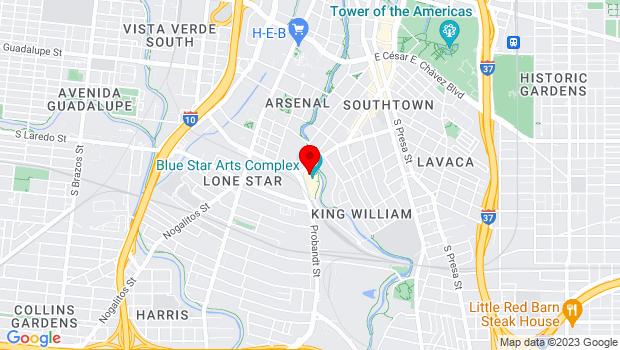 Google Map of 108 Blue Star #1773, San Antonio, TX 78204