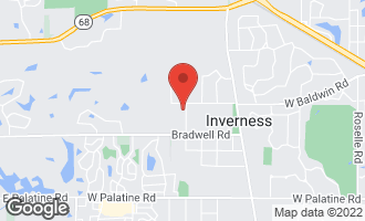 Map of 108 North Haman Road INVERNESS, IL 60010
