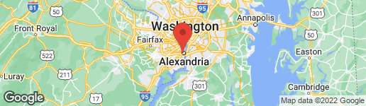 Map of 108 PAYNE STREET N ALEXANDRIA, VA 22314