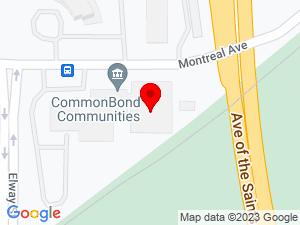 Google Map of CommonBond Communities