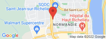 Google Map of 1080+rue+Douglas%2CSaint-jean-sur-richelieu%2CQuebec+J2W+2M4