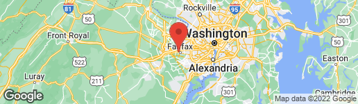 Map of 10815 SECOND STREET FAIRFAX, VA 22030