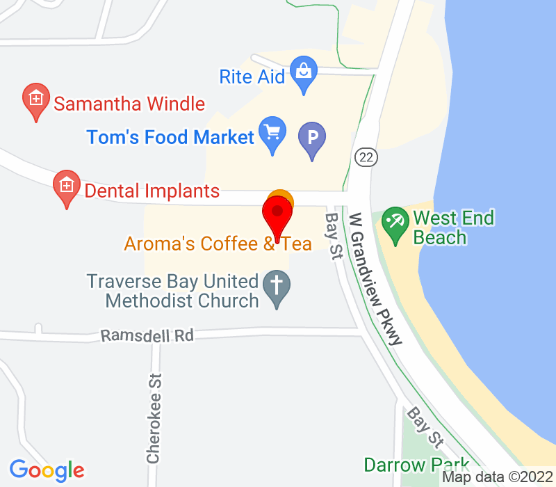 Click to view Google maps office address 10850 E. Traverse Highway, Suite 5575, Traverse City, MI 49684