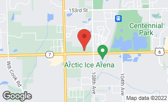 Map of 10870 West 159th Street ORLAND PARK, IL 60467