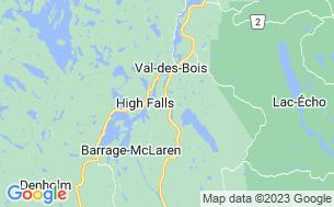 Map of Camping Montagnard