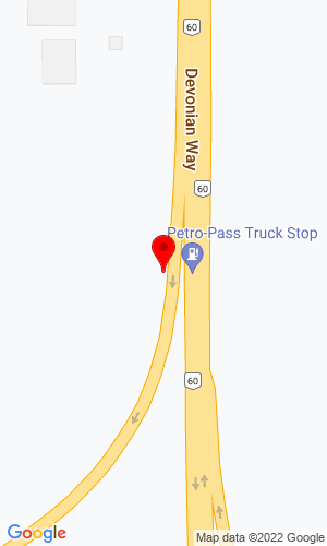Google Map of Arrow-West Equipment LTD 109-53016 Hwy 60, Edmonton/Alberta, Alberta, Canada, T7X 5A7